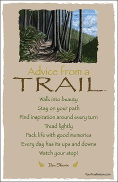 Advice from a Trail