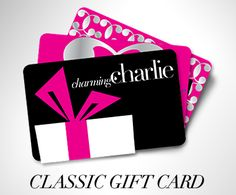 Charming Charlie gift card - always fun to be able to splurge for bags/jewelry for events throughout the year