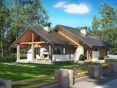 50 modern farmhouse exterior design ideas for stylish but simple look 3 Design Villa Moderne, Modern Villa Design, Style At Home, Future House, House Roof Design, House Cladding, Modern Bungalow House, Cottage Plan, Modern Farmhouse Exterior