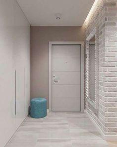 36 Minimalist Home Door Design You Have Must See Home Door Design, Door Design Interior, Modern Interior Design, Minimalist Home Decor, Apartment Interior, House Rooms, Design Case, Living Room Designs, Modern Entrance