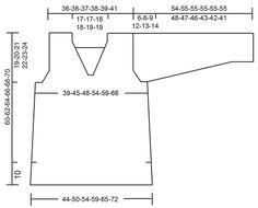 """Sunny Day - Pulôver DROPS com decote em V, ponto rendado e fendas nos lados, em """"Paris"""". Do S ao XXXL. - Free pattern by DROPS Design"""