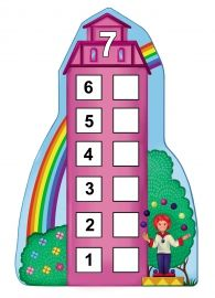Number Houses Counting Sheets for Young Children (Six Through Ten) Preschool Education, Teaching Math, Maths, Kindergarten Centers, Math Centers, Math Magic, School Frame, First Grade Writing, Math Stations