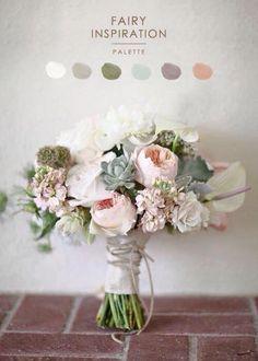 Bouquet per la sposa romantica