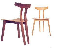 Chaise design Scandinave / en bois SPLINE  Dare Studio