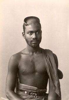 singhalese man/sri lanka
