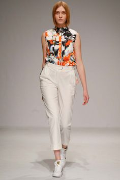 Ksenia Schnaider Kiev Fall 2015 Fashion Show: Complete Collection - Style.com