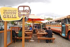 The Grilled Cheese Grill - I'm going to have to check this one out on our next trip to the coast!