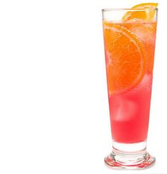Pinnacle Vodka - Pinnacle Rainbow Sherbet Vodka, 1 part orange juice, 1 part cranberry juice. Mix in a glass with ice and garnish with orange slice. (alcohol drink recipes with orange juice) Party Drinks Alcohol, Alcohol Drink Recipes, Alcoholic Drinks, Beverages, Cocktails, Cocktail Drinks, Cocktail Recipes, Campari Drinks, Martinis