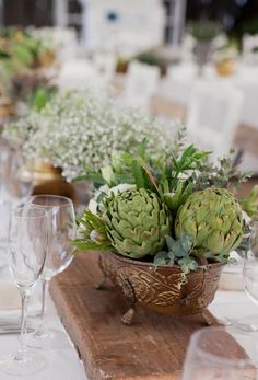 Image result for rustic vegetable centerpieces