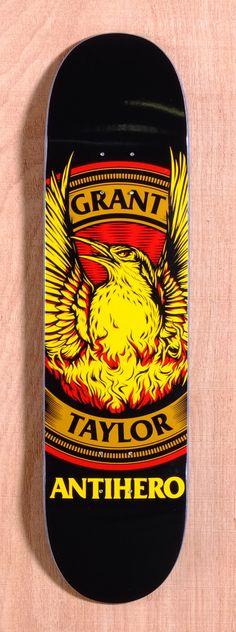 Anti Hero Taylor Resurgens 8.06 Skateboard Deck