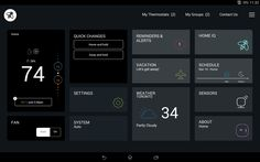 home automation lights UI - Google Search