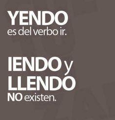 ¡Detalles que hacen grandes diferencias! #yendo #ortografia #lengua
