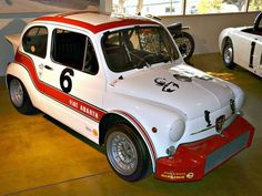 """specialcar: """" Racing Fiat Abarth 1000TCR """""""