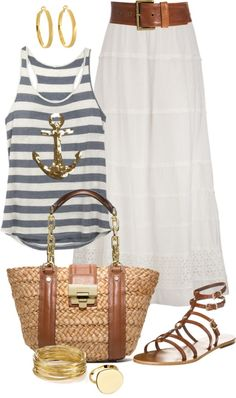 Summer Nautical Fashion-from The Everyday Home