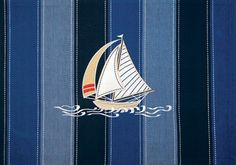 Sail-away Placemats - $39.99 This set of 4 placemats with an embroidered design recalls those breezy days spent at sea.