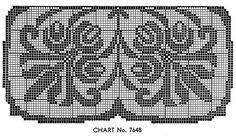 Manor House Doily Pattern chart