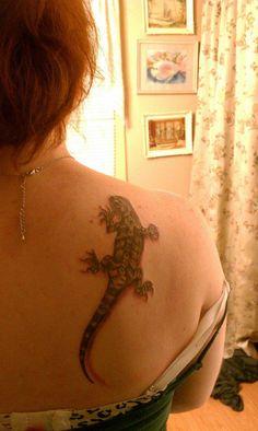My bearded dragon tattoo!!