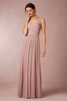 Muted lavender gown >> bhldn
