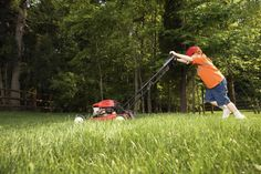 5 Great Summer Jobs for 13 Year Olds: Lawn Mowing