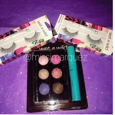 "Wet n Wild Bundle New in package. Baked eyeshadow palette, 6 different colors including a ""megawear"" mascara. 2 Lashes in ""Shutter Shock"" Wet n Wild Makeup Eyeshadow"