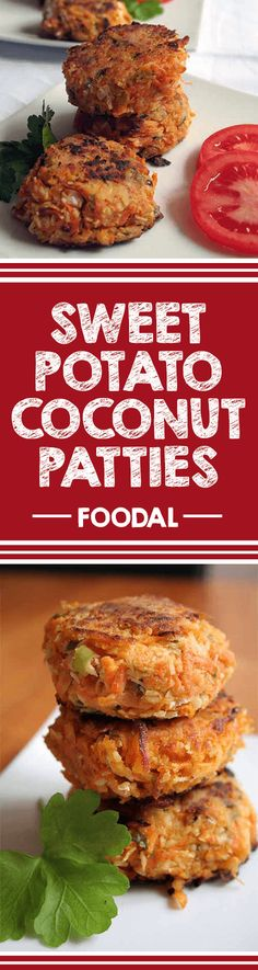 Try these sweet potato patties with chili, coconut and a dash of lime ...
