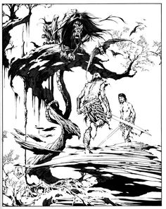 Alex Niño - one of my faves! Worked on The Comet for Red Circle Comics & Thriller for DC Comics to name a few.