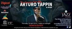 Don't miss the Jazz at The Pavilion Charity Benefit that will be held on Thursday, April 24th. The featured act is none other than the famous Arturo Tappin!   Source: Adventures of Steely Pan via Facebook  More info. about the organization can be found here: http://www.yahwehtobago.org/  #CharityEvents #Tobago #Trinidad #TrinidadAndTobago #JazzCharityBenefit #Jazz #CharityBenefit #Caribbean #TobagoBookings #ArturoTappin