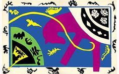 Henri Matisse - Le Cheval / The Horse, from Jazz (1947) //   Picture: © Succession H. Matisse / DACS 2011
