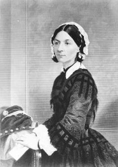 "Florence Nightingale -  ""I think one's feelings waste themselves in words; they ought all to be distilled into actions which bring results.""     ASSOCIATED PRESS"