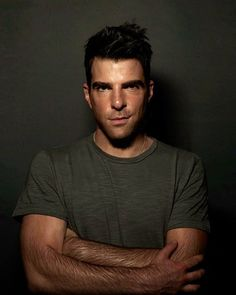 Zachary Quinto - Spock. Something about those pointy ears.....