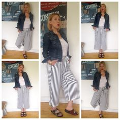 The splendid stripe trouser moment - Love a good stripe