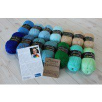 Scheepjes Colour Crafter Basic Dance in the Sea CAL Colour Pack