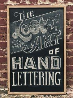 Fonts // Typography // Lettering // Chalkboard