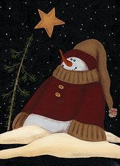 Snowman  by Natasha Denger