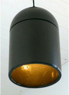 Online veilinghuis Catawiki: Grote industriële vintage bruine originele Philips hanglamp ( 1978 IF product Design Award )