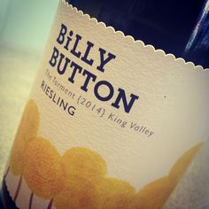 Superb Riesling from Billy Button wines - tiny volume made but its superb! Www.billybuttonwines.com.au #billybutton #wine