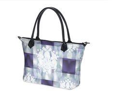 """Tasche mit Jugendstil-Design """"Jewelance No3""""  von D. A. Brunzlik Jugendstil Design, Design Art, Tote Bag, Bags, Accessories, Fashion, Umbrellas, Suitcases, Handbags"""