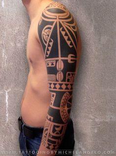 Amazingly Designed Marquesan Tattoo Patterns (17)