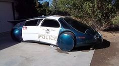 Back to the Future movie Police Car