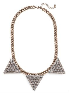 Warrior Triad Necklace - View All - Categories - Shop Jewelry | BaubleBar