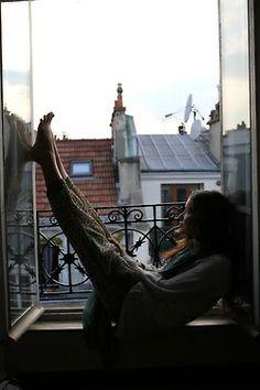 Bohemian Homes:relaxing in paris