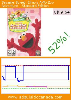 Sesame Street: Elmo's A-To-Zoo Adventure - Standard Edition (DVD-ROM). Drop 52%! Current price C$ 9.64, the previous price was C$ 19.99. https://www.adquisitiocanada.com/warner-bros/sesame-street-elmos-zoo-2