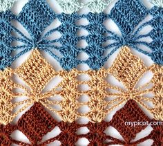 Delicadezas en crochet Gabriela: . Ganchillo patrón clase magistral: