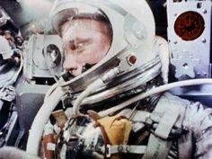 John Glenn During the Mercury-Atlas 6 Spaceflight