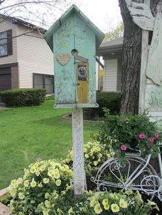 Need to add a vine and it's good to go :-) Junk Chic Cottage