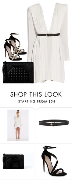 """Formal NYE outfit"" by keisha-xo ❤ liked on Polyvore featuring Madewell, Zara, Carvela and Anya Hindmarch"