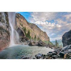 Bottom of Bridal Veil Falls - photo by Jake Burchmore