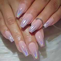 Glamour Chrome Nails Trends 2017 16