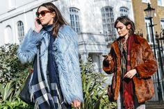 Fall 2015 Ready-to-Wear - Tommy Ton Street Style Photos - Vogue New York Fashion Week Street Style, Milan Fashion Weeks, Cool Street Fashion, Street Chic, Trendy Fashion, Winter Fashion, London Fashion, Runway Fashion, Street Wear
