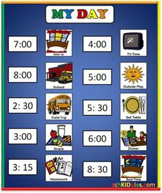 Picture Schedules